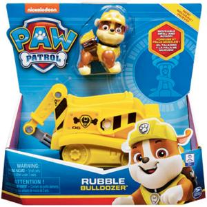 Paw Patrol Rubble køretøj & figur